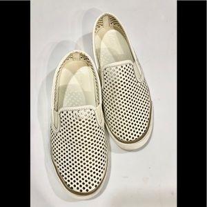 Tory Burch Laser Cut Slip-On Sneakers Sz 6
